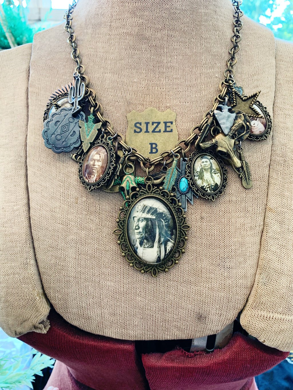 Indian Tribe Necklace