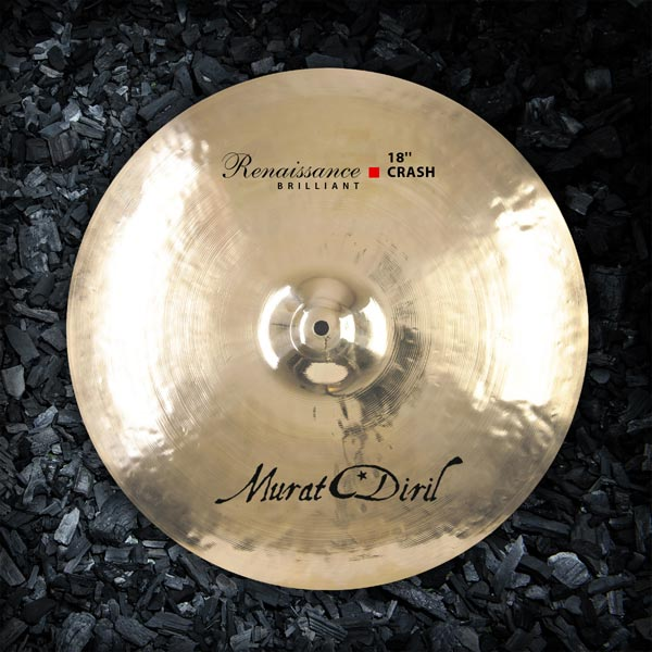 MURAT DIRIL Definitive Renaissance Brilliant Hi-Hat pair