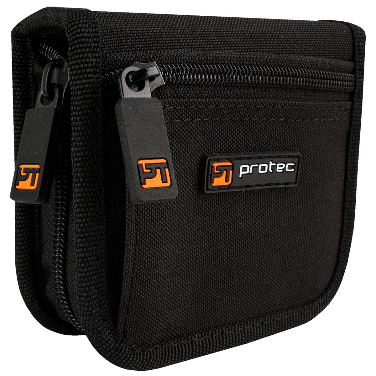 PROTEC Large Brass 2 Piece Pouch w/ Zipper Closure