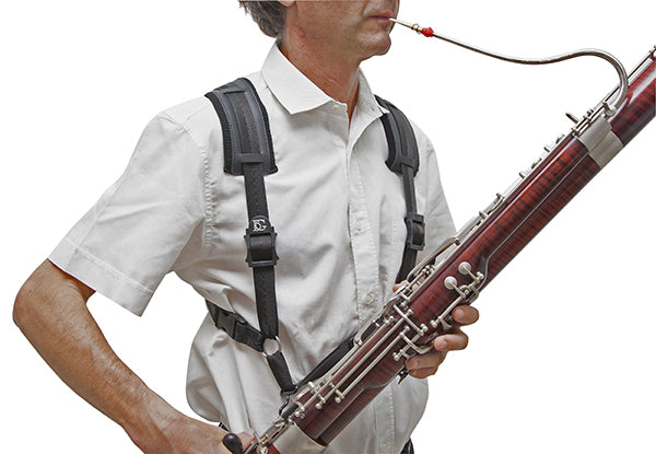 BG Bassoon Harness Comfort, Extra Cotton Padding, Men