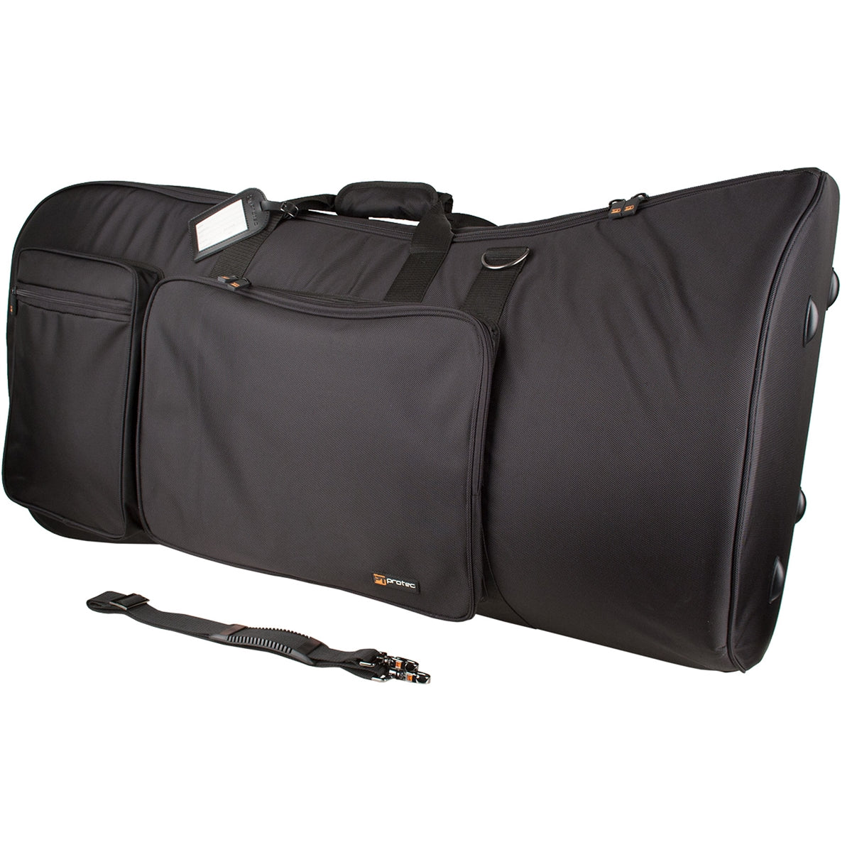 "PROTEC Tuba Gig Bag - Up To 22"" Bell - Gold Series"