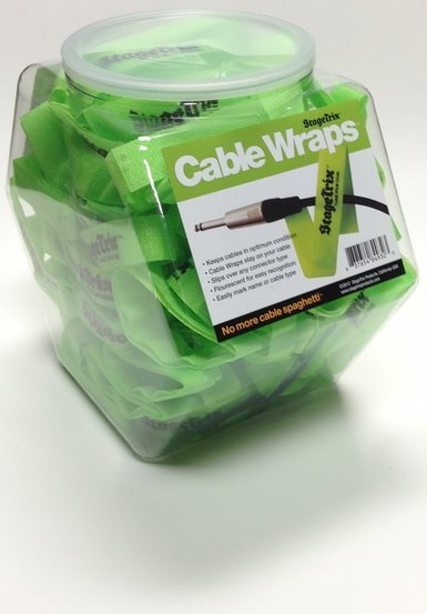 StageTrix Cable Wrap 100pc