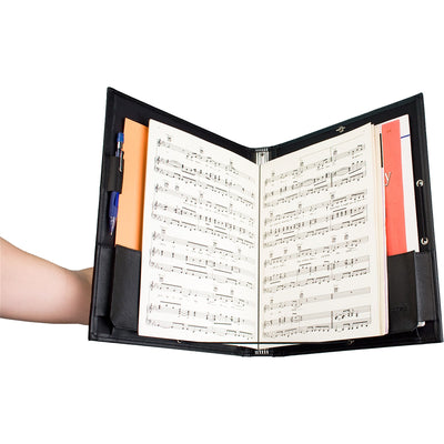 PROTEC Elastic Banded Music Folder w/ Retaining String