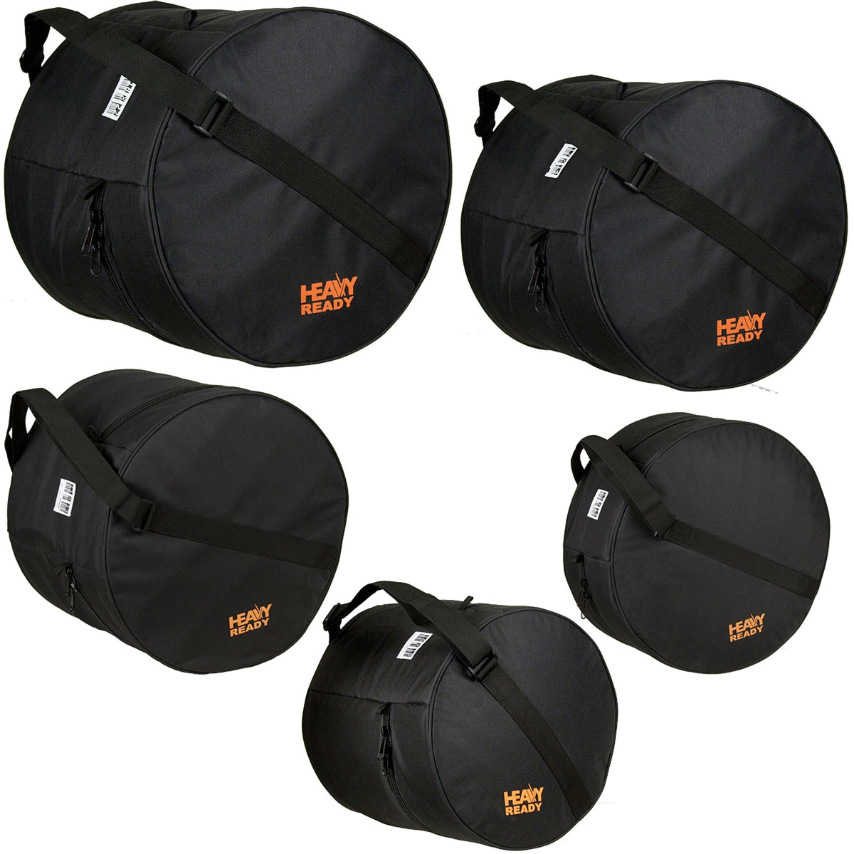 PROTEC Heavy Ready 5pc Bag Kit - Fusion 1