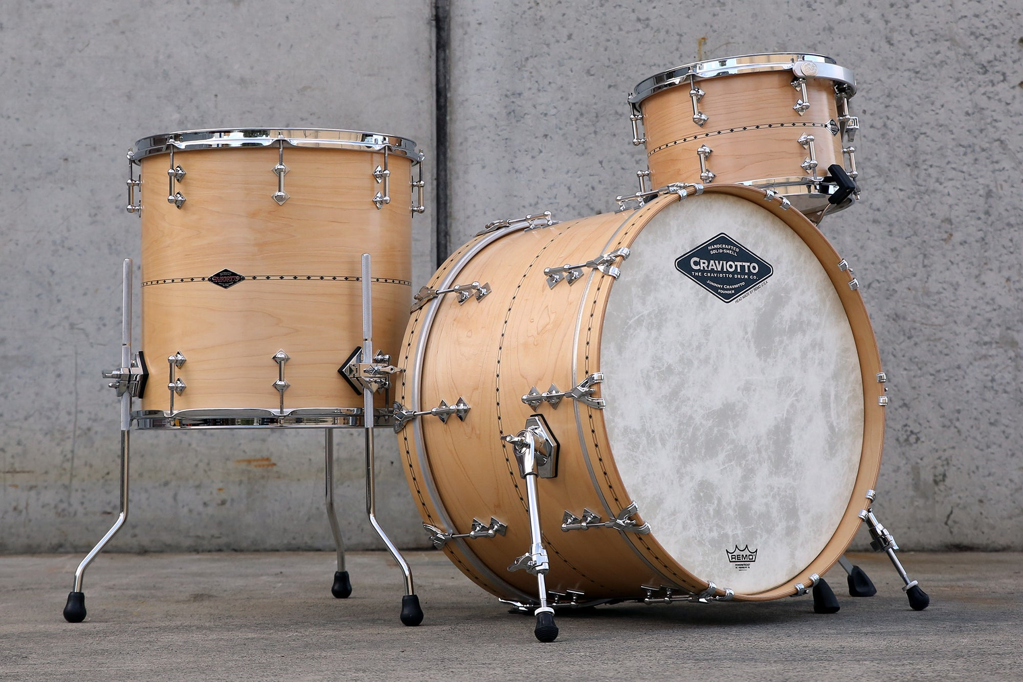 CRAVIOTTO Custom Shop Maple Kit 22x14, 12x08, 16x16