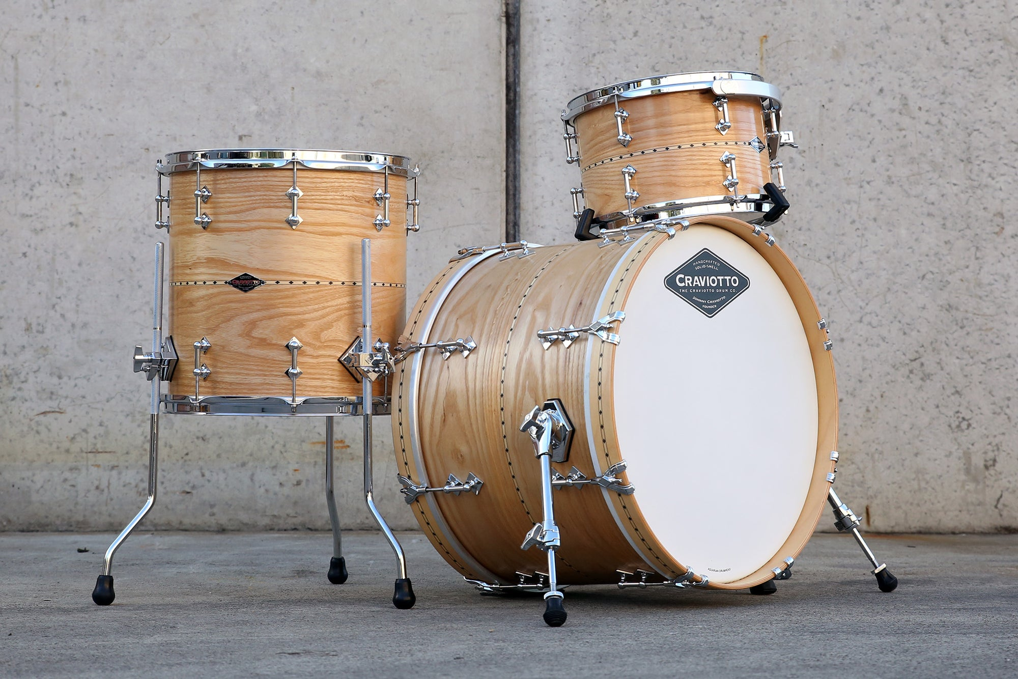 CRAVIOTTO Custom Shop Ash Kit 20x14, 12x08, 14x14