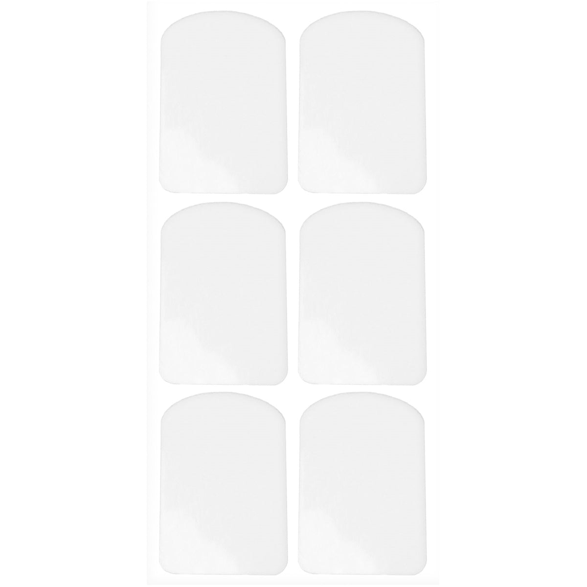 PROTEC Mouthpiece Cushion, 0.4mm, 6pc, Clear