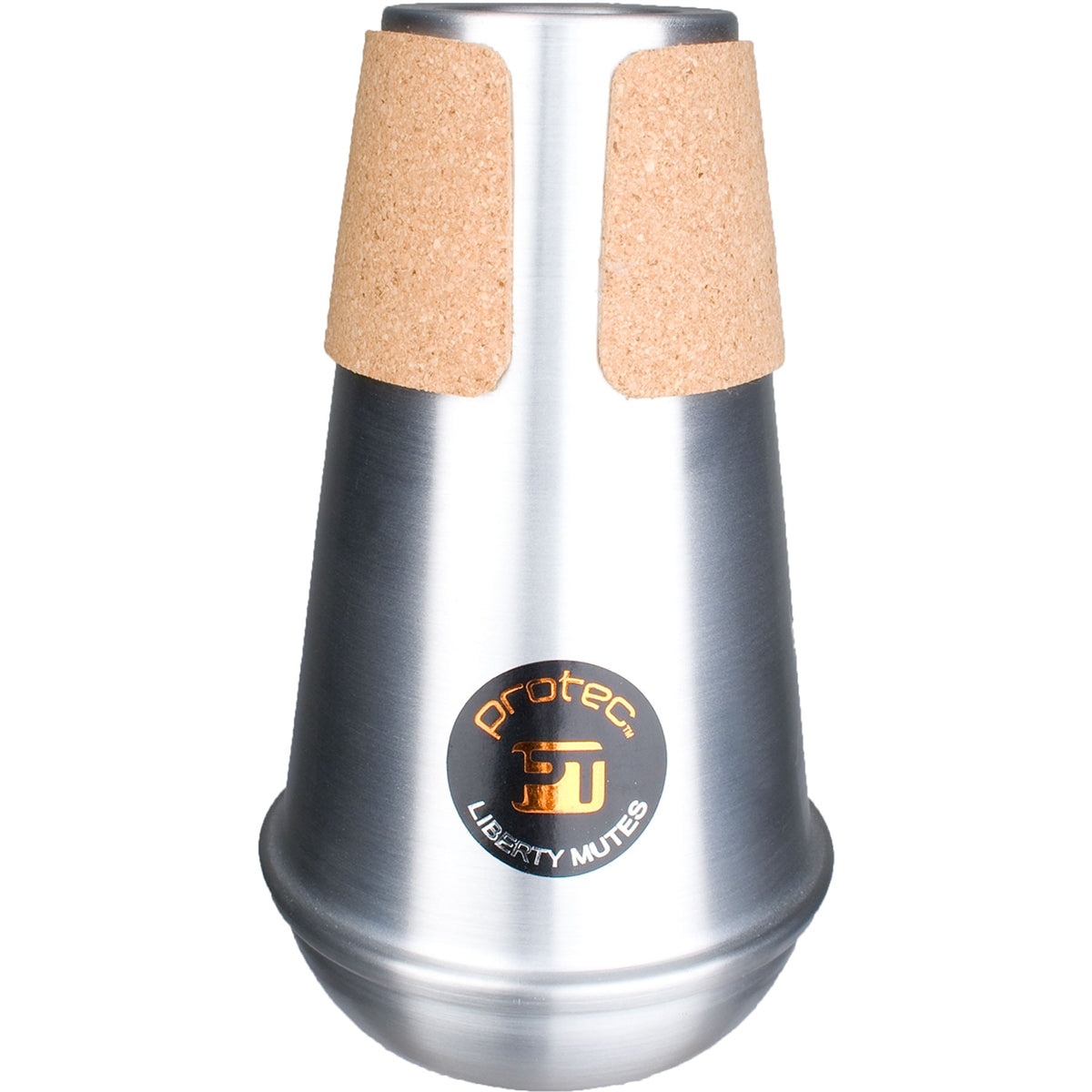 PROTEC Liberty Bass Trombone / French Horn Compact Pactice Mute - Aluminium