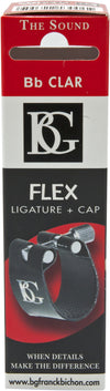 BG Ligature & Cap Bb Clarinet, Flex Fabric Lig