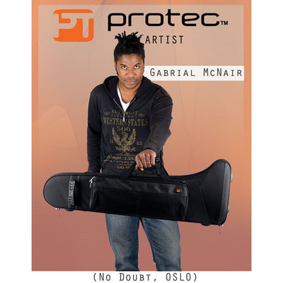 PROTEC Cont. Tenor Trombone Pro Pac (Straight / F-Attachment)