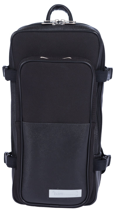 BAM SIGNATURE Weekender Backpack for 1 Oboe, Bb Clarinet or Flute Hightech Hardshell Case