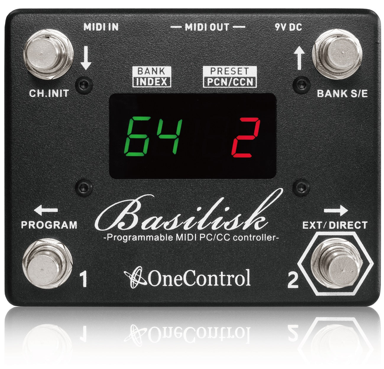 One Control Basilisk Programmable Midi PC/CC Controller