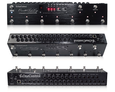 One Control Crocodile Tail Loop 10-Loop Programmable Switcher w/ Midi Control & BJF Buffer