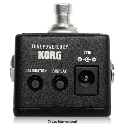 One Control Tuner with BJF Buffer - Tuner Powered By Korg