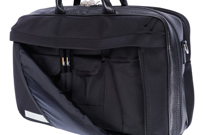 BAM SIGNATURE Weekender Briefcase for 2 Clarinets Hightech Hardshell Case