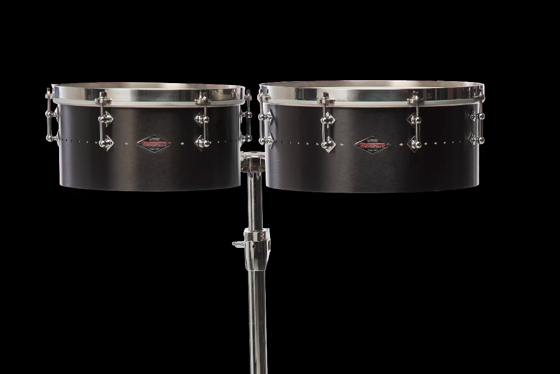 "CRAVIOTTO Metal Timbale Set 13"" & 14"""