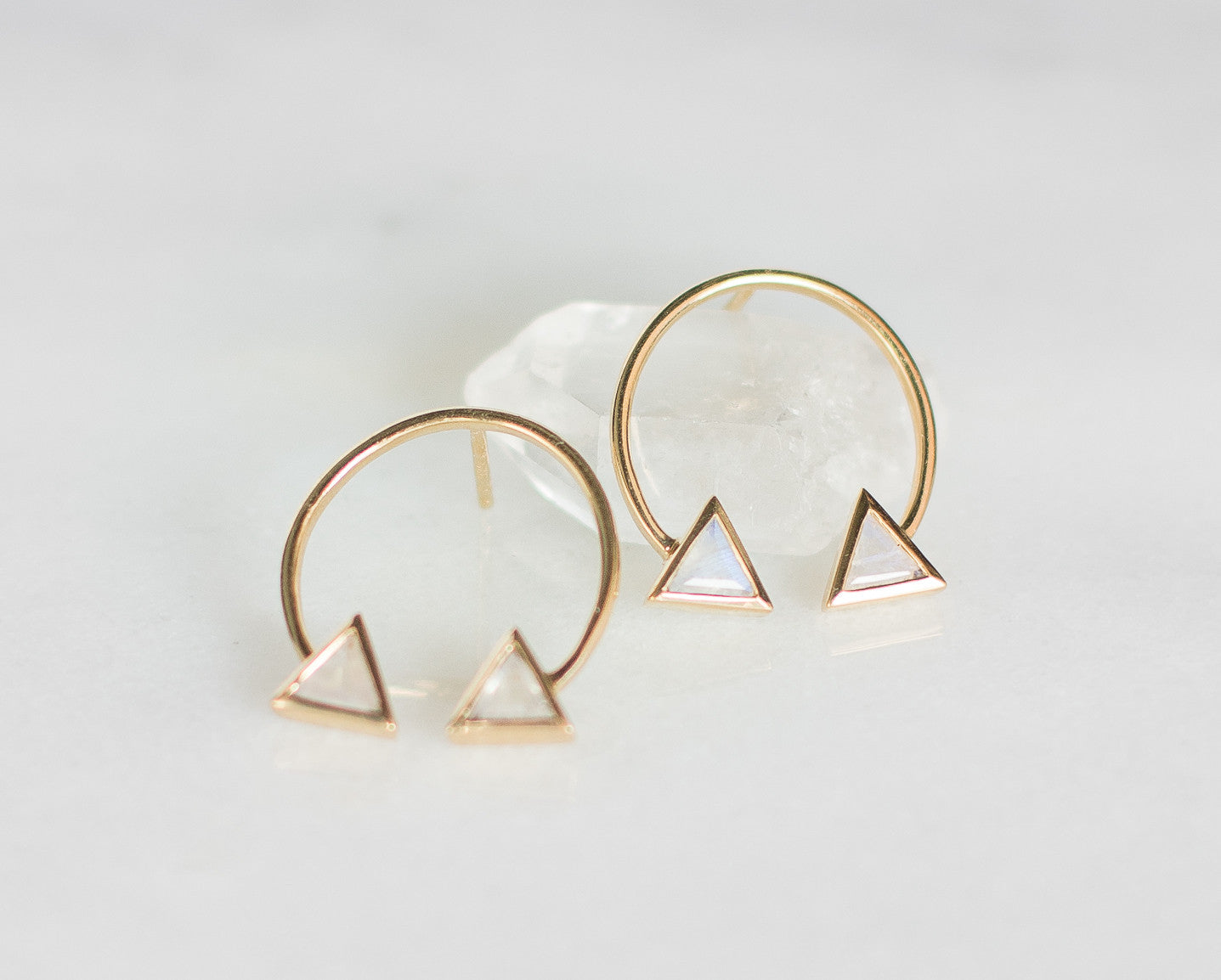 Double Arrow Studs