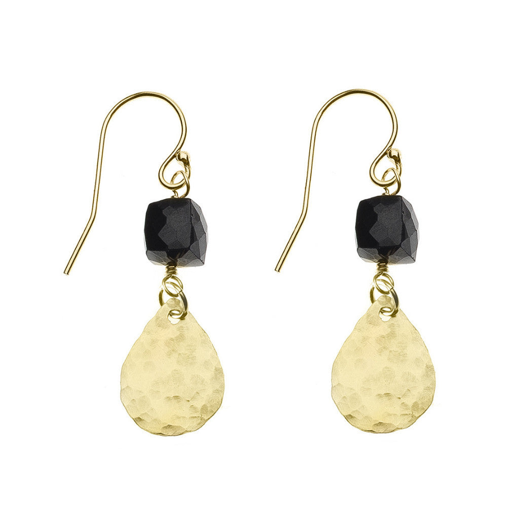 Adriatic Earrings - Black Onyx