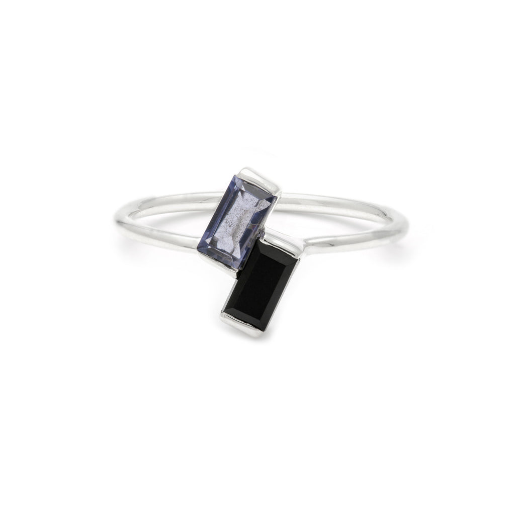 Brix Ring - Spinel & Iolite