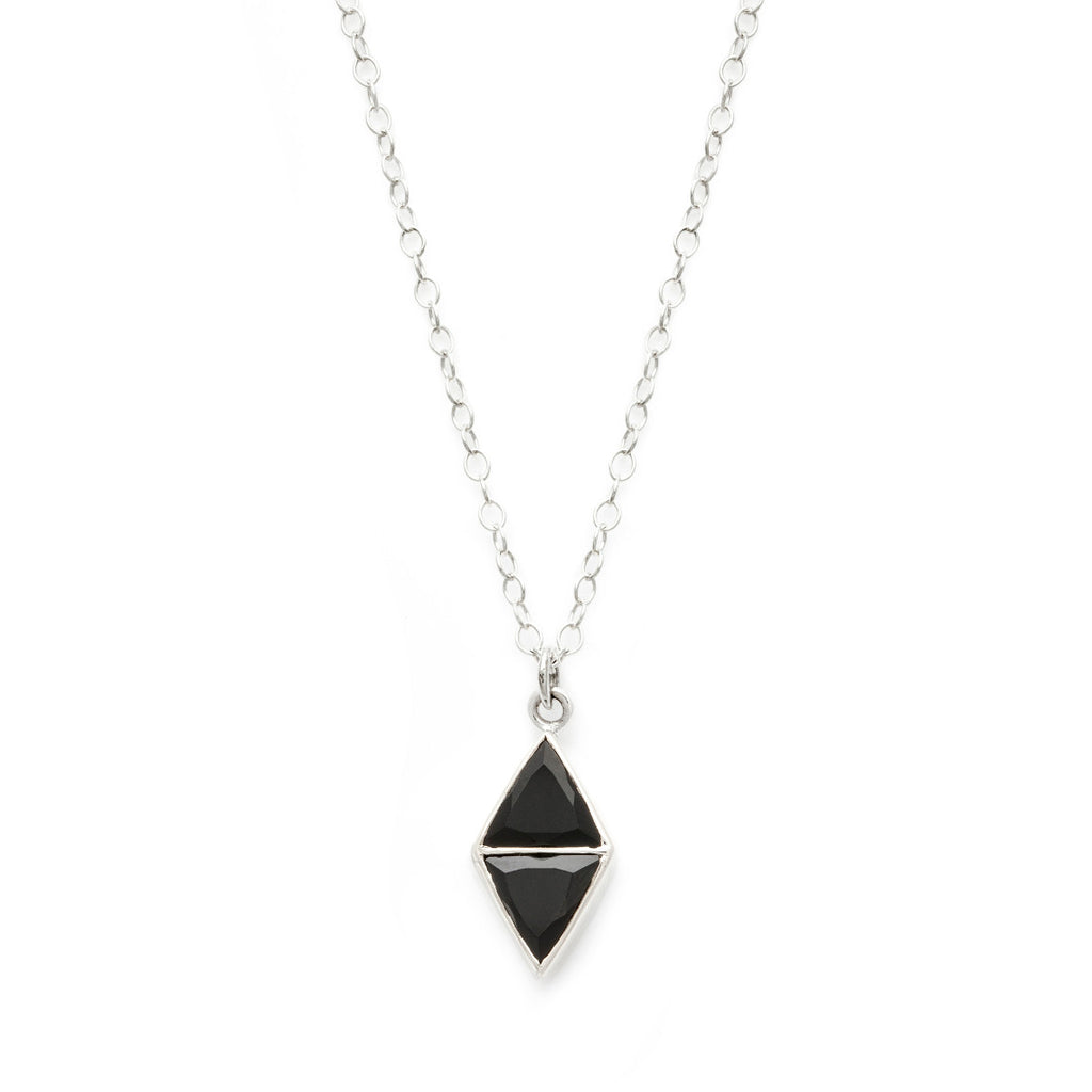 Mirror Necklace - Spinel