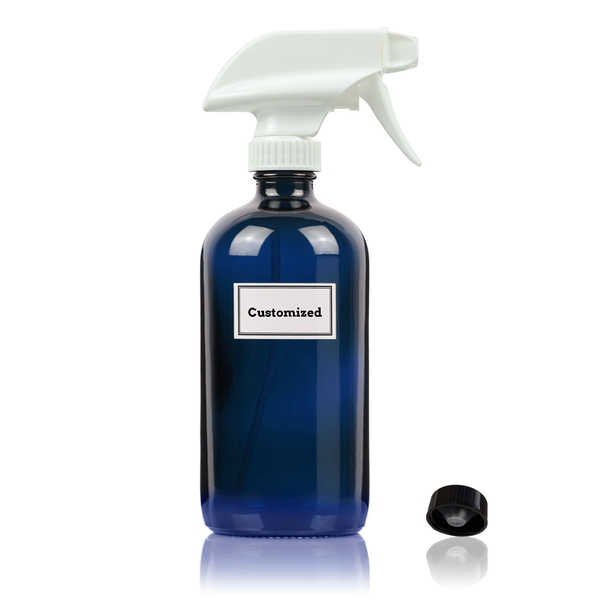Cobalt Blue Trigger Sprayer Bottle
