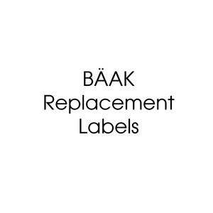 Replacement Labels