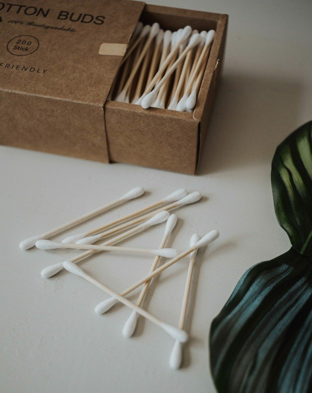 Bamboo Cotton Buds (200 Pack) Zero Waste MVMT