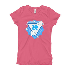 Girl's Fitted T-Shirt V4