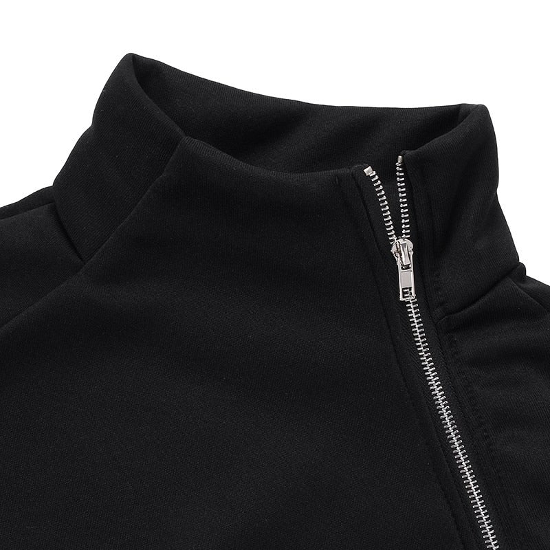 RIVAL SLIM FIT ZIPPER SWEATSHIRT