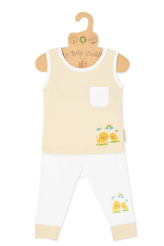 """Oh Little Lion"" Tank Top & Pant Set"