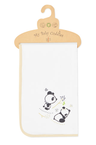 """Cuddle Me Panda"" Double Sided Blanket"