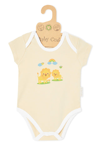 """Oh Little Lion"" S/S Bodysuit"
