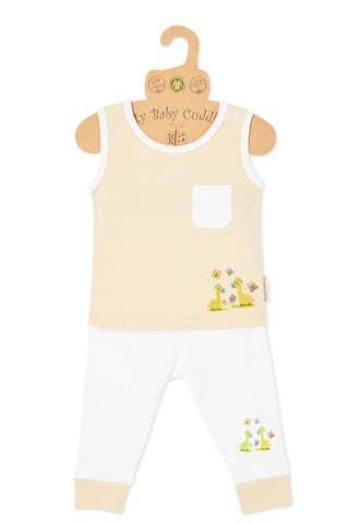 """Love Me Giraffe"" Tank Top & Pant Set"