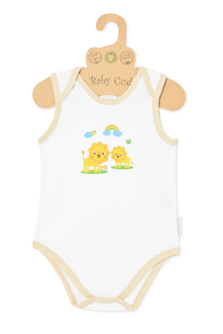 """Oh Little Lion"" S/L Bodysuit"