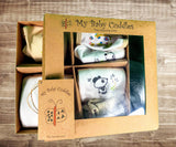 "Newborn Gift Pack ""Love me Giraffe & Cuddle Like a Panda"" prints"