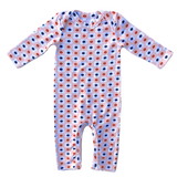 Infant Jumper, Peachy Floral - Lemon and Lucy