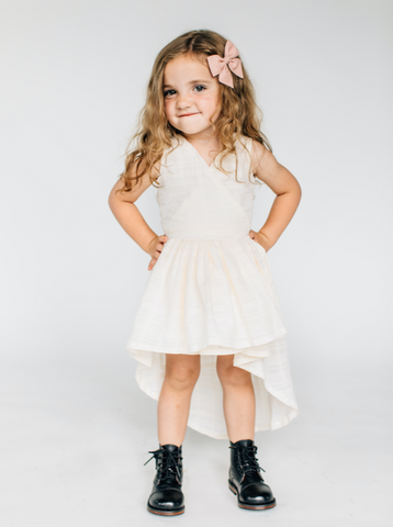 Goldie Hi Low Dress - Lemon and Lucy