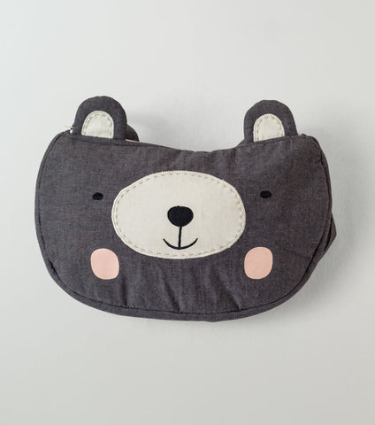 Bear Face Backpack - Lemon and Lucy