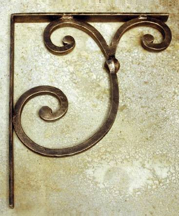 Sale Hand Made Wrought Iron Corbal Countertop Supports