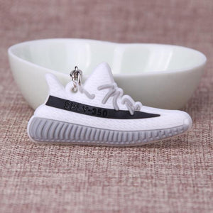 Mini Silicone SPLY-350 V2 Shoes Keychain Woman Men Kids Key Ring Gift Porte Clef Sneaker Key Chain