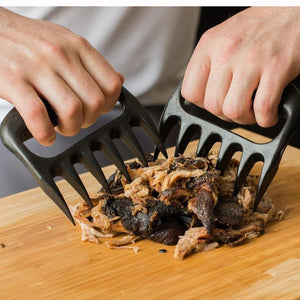 Meat Distributor BBQ Barbecue Tool Bear Claw Meat Divider Bear Claw Fork Bear Claw Meat Ripper