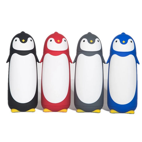 Penguin Stainless Steel Thermos Vacuum Flasks Cartoon Thermos Portable Thermal Insulated Mug