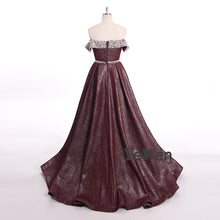Load image into Gallery viewer, Pink Burgundy Beading Luxury Slim Sexy Mermaid Evening Dresses Vintage High-end Evening Gowns