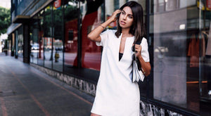 Casual Short Sleeve V-Neck Shirt Blouse White Tunic Ladies Long Blouse High Quality Women Fashion Top Blouse