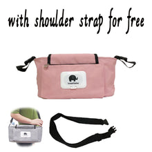 Load image into Gallery viewer, Baby Stroller Organizer Bag Mummy Diaper Bag Hook Baby Carriage Waterproof Large Capacity Stroller Accessories Travel Nappy