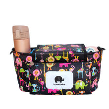 Load image into Gallery viewer, Print Strollers Baby Trolley Bag with Detachable Handbag Multifunctional Baby Stroller Organizer