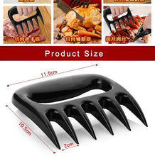 Load image into Gallery viewer, Meat Distributor BBQ Barbecue Tool Bear Claw Meat Divider Bear Claw Fork Bear Claw Meat Ripper