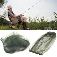 Load image into Gallery viewer, Outdoor Camping Hiking Midge Mosquito Insect Hat Bug Mesh Head Net Face Protector for Travel Face Protector Tourism Kit