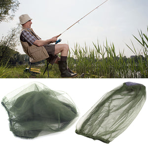 Outdoor Camping Hiking Midge Mosquito Insect Hat Bug Mesh Head Net Face Protector for Travel Face Protector Tourism Kit