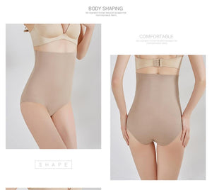 Super Stretch Tummy Control Panties High Waist Shaper Women Body Slimming Shapewear Underwear Butt Lifter